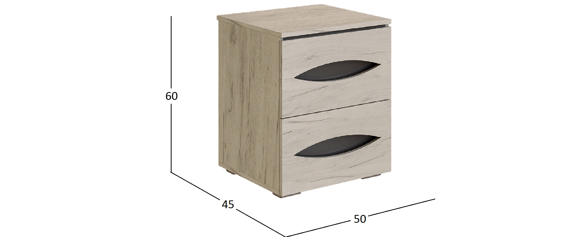 Тумба прикроватная Литисия Модель 503